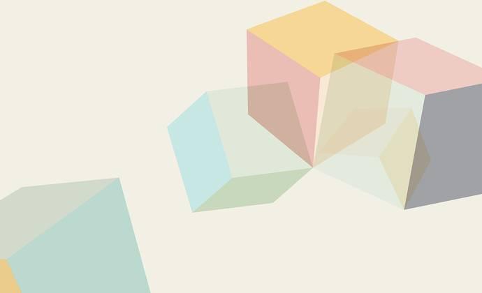 Tumbling cubes 6