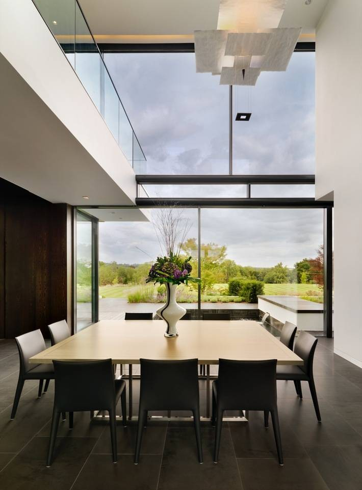 Berkshire 1 Double Height Dining Space