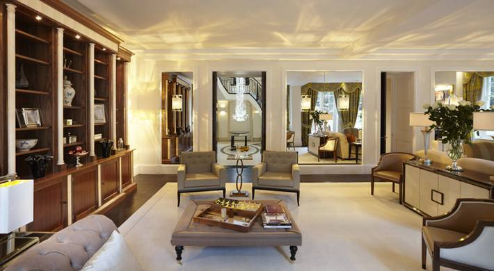 A London Residence Based On The Design Of Ss Normandie Biid