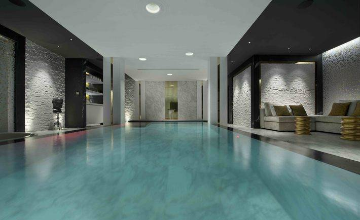 Basement swimming pool spa biid for Basement swimming pool ideas
