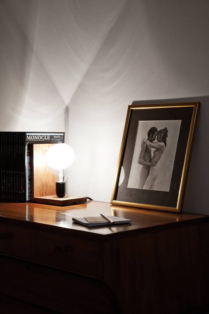 White Master Bedroom Vintage Heals Wooden Chest Of Drawers Filament Light Book End