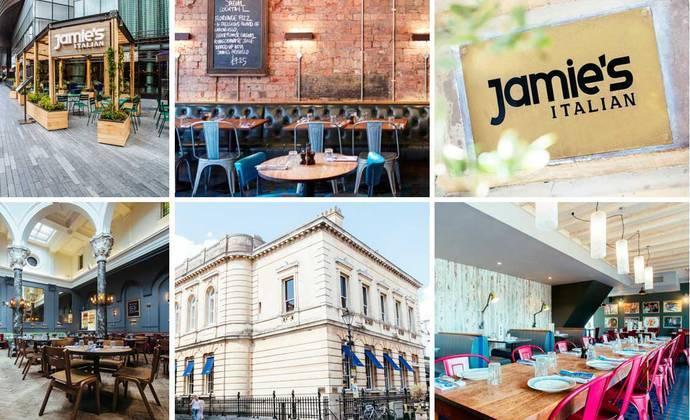 Design a restaurant challenge jamies italian