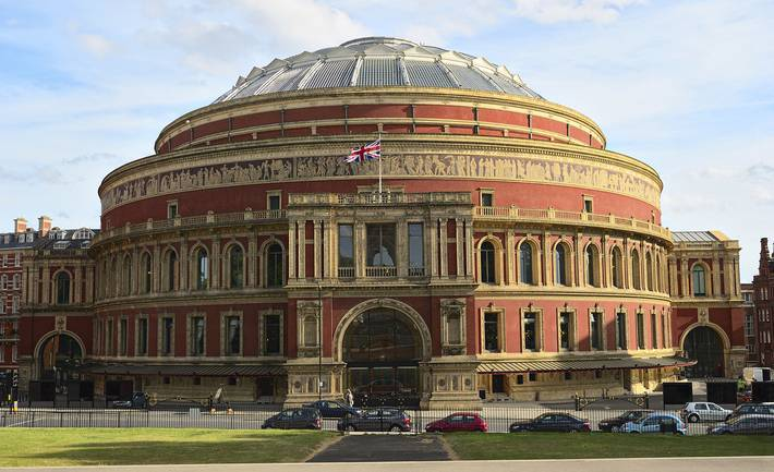 Interior design tour of the royal albert hall biid for Door 4 royal albert hall