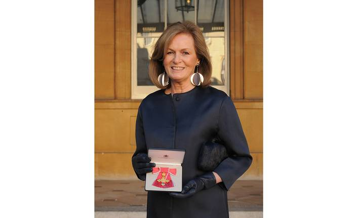 Diana Yakeley Receives OBE