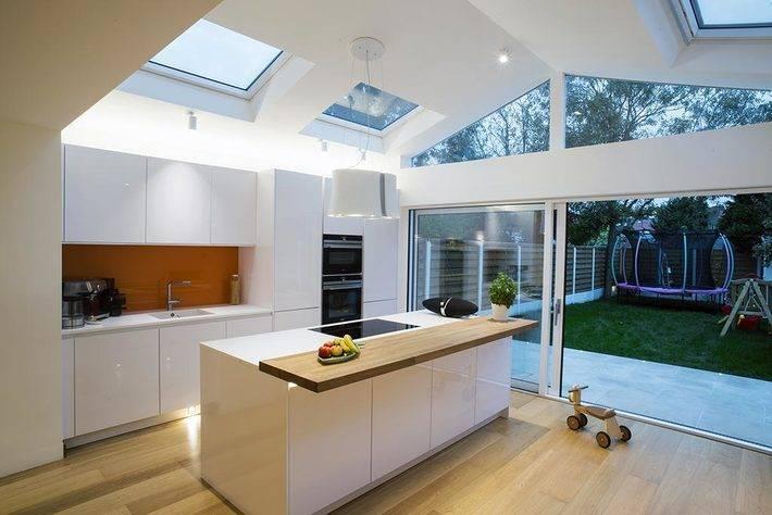 Modern White Kitchen Extension 3 1024x683
